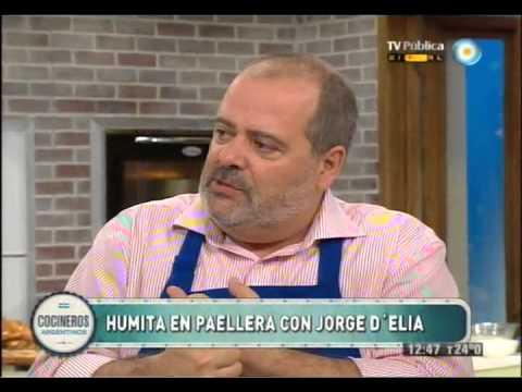 Humita en paellera con Jorge D�elia