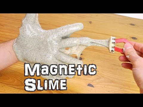 How to Make Magnetic Slime Using Elmer  s Glue and Iron