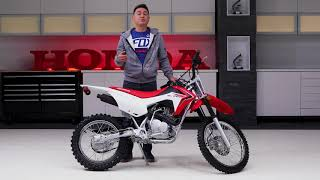 2. 2018 CRF125FB Walk Around
