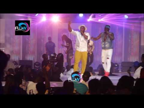 HARRY SONG BLAST KCEE ON STAGE