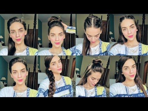 Easy hairstyles - 10 EASY HEATLESS QUICK HAIRSTYLES  MAROOSHA'S MAKEUP