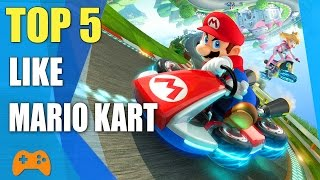 ➤ Top 5 games like Mario Kart  Similar game to Mario Kart■ ModNation Racers■ Diddy Kong Racing■ Sonic & All-Stars Racing Transformed■ LittleBigPlanet Karting■ Crash Team Racing➤ Like and subscribe for more video!Subscribe my channel click here : https://goo.gl/EOgO4t➤ Free Game Online : https://goo.gl/ApdD47➤ Mobile Game : https://goo.gl/2CKLRC➤ PC & Console Game : https://goo.gl/EEGBdy➤ Thank you for watching!