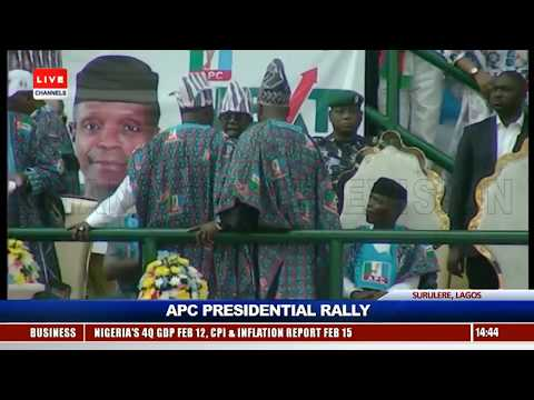 Lagosians Troop Out En-Mass As Buhari Campaigns In Lagos Pt.3 |Live Event|