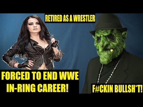 Paige Forced To End Her WWE In-Ring Career After Latest Injury (BREAKING NEWS)
