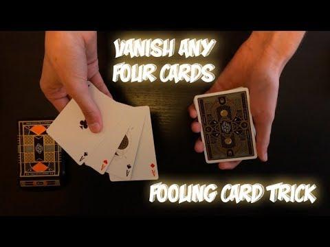 V4NISH: Advanced Card Trick Performance And Tutorial! (видео)