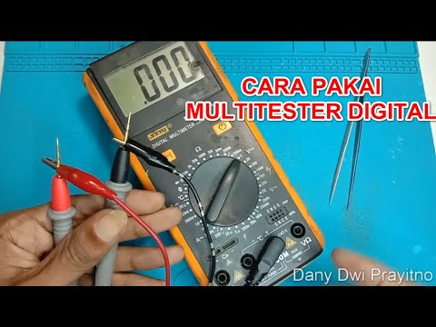 Cara Menggunakan Avometer Digital ( Multitester / Multimeter )