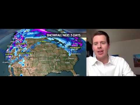 Snow Before You Go: 3 Storms, 3 Feet - ©Meteorologist Chris Tomer