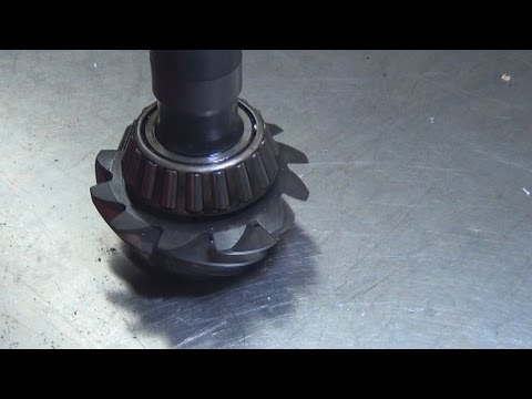 How To Remove A Pressed On  Pinion Bearing
