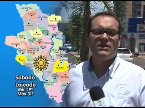 Vídeo Previsão do Tempo 23 01 2015