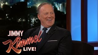 Video Jimmy Kimmel's FULL INTERVIEW with Sean Spicer MP3, 3GP, MP4, WEBM, AVI, FLV Januari 2018