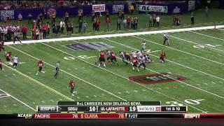 Ryan Lindley vs Louisiana Lafayette (2011)