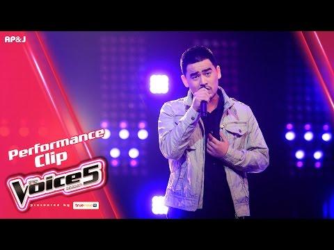The Voice Thailand - แจ็คกี้ พิรชัชย์ - รักไม่ช่วยอะไร - 15 Jan 2017