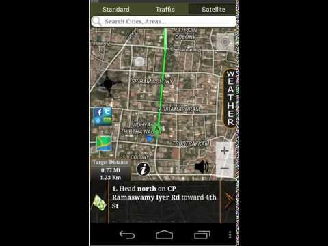 Video of GPS Driving Route