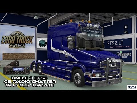 Uncle D ETS2 CB Radio Chatter Mod [New]  v1.2