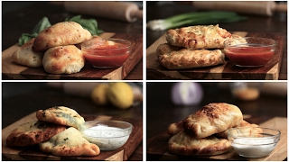 Mini Calzones 4 Ways by Tasty