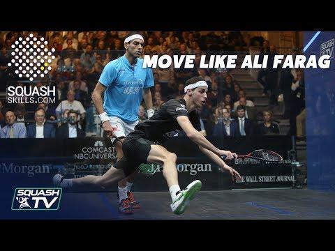 Squash Coaching - Move like Ali Farag