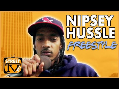 Never before seen freestyle by the Hussle man from 2009