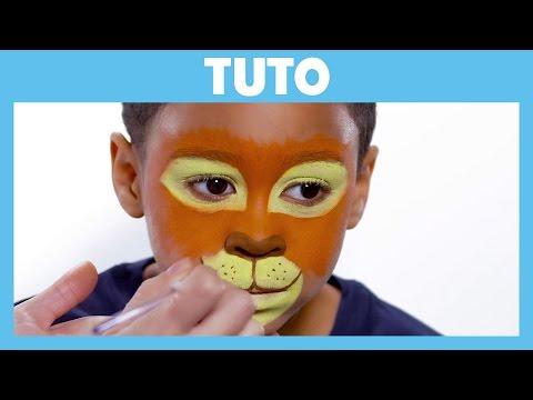 La Garde du Roi Lion - Tuto : Maquillage de Kion