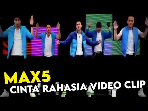 MAX5 Cinta Rahasia Video Clip