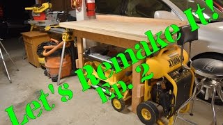 In this series I go back and remake projects I made in my school shop classes or other projects from my past. In this episode I remake and make a few upgrades to my dad's old workbench he made in 1981.