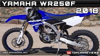 6. 2018 YAMAHA WR250F Review Rendered Price Specs Release Date