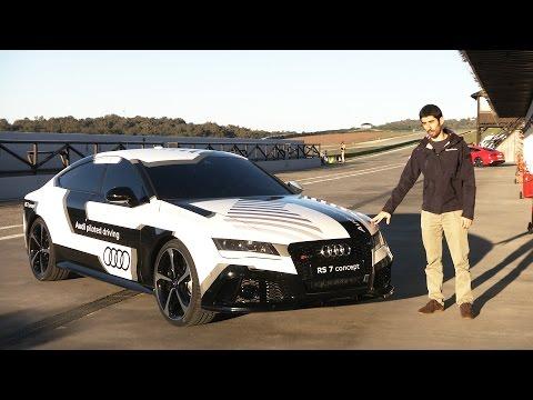 nuova audi rs7: l'auto che guida da sola!