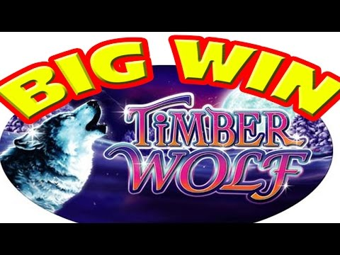 Timber Wolf * BIG BET & BIG WIN * Las Vegas Slot Machine Dodging Security Part 2