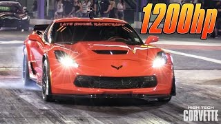 1200hp Z06 - Sounds Insane!! by High Tech Corvette