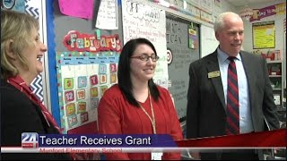 Alabama Power Presents Grant to First Year Teacher