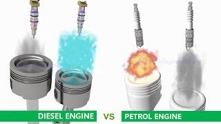 Video Petrol (Gasoline) Engine vs Diesel Engine MP3, 3GP, MP4, WEBM, AVI, FLV Juli 2018