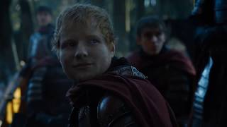 Ed sheeran appeared on Game of thrones season 7 Episode. In this scene he sing's a song ,I just replaced that with Shape of you. Hope you'll Like it Cheers.