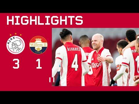 Highlights | Ajax - Willem II | Eredivisie
