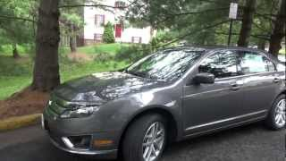 2012 Ford Fusion SEL V6  Review, Walk Around And Test Drive