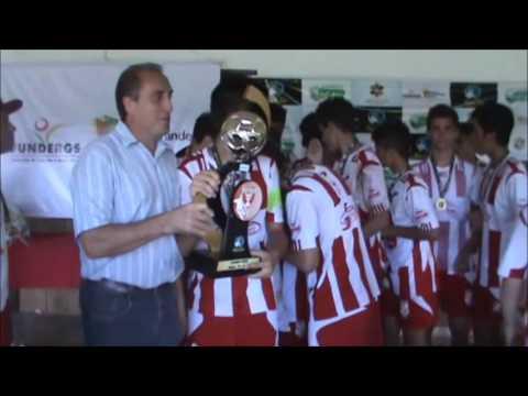 Copa das Flores 2014 em Santa Clara do Sul / RS  =  JUVENTUS / Ijuí RS Campeão Sub-16