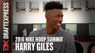 2016 Harry Giles Nike Hoop Summit Interview - DraftExpress