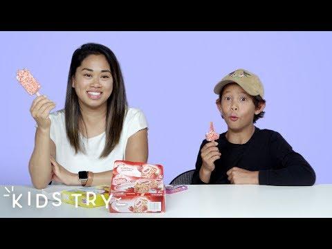 Kids Try Their Adult Siblings' Favorite Childhood Foods | Kids Try | HiHo Kids