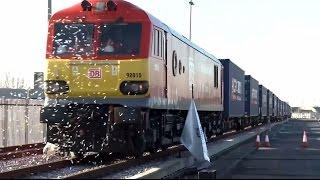 Первый поезд из Китая прибыл по Великому шёлковому пути в Лондон