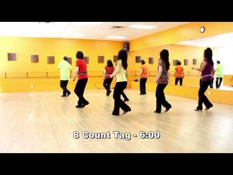 Knockin' On Wood – Line Dance (Dance & Teach in English & 中文)