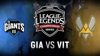 Video GIA vs. VIT  - Week 1 Day 2 | EU LCS Spring Split |  Giants Gaming vs. Team Vitality (2018) MP3, 3GP, MP4, WEBM, AVI, FLV Juni 2018