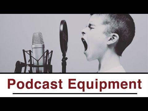 Welches Equipment für deinen Podcast? #1 Podcast Tutorial ...