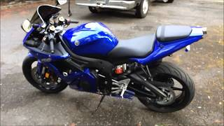 10. 2005 Yamaha YZF-R6 in Pristine Condition for sale.