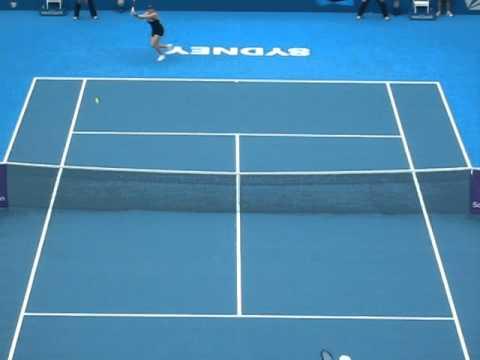Video Gallery: Kim Clijsters v Alisa Kleybanova