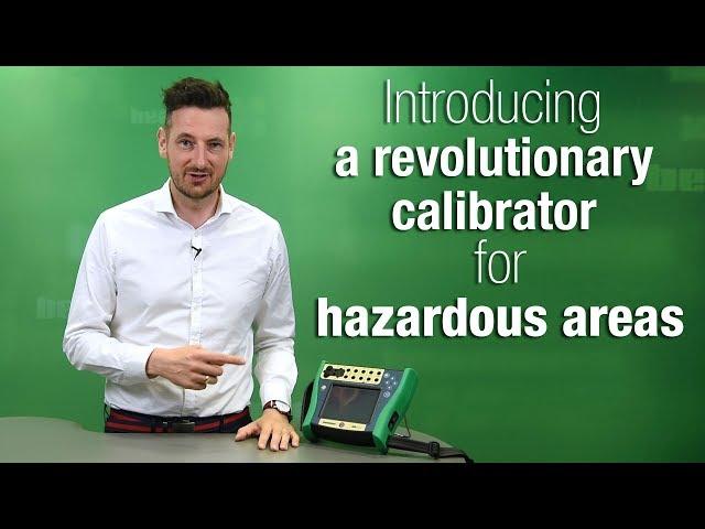 MC6-Ex - iskrovo bezpečný kalibrátor