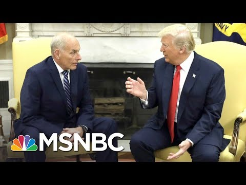 The Perils Of Donald Trump's Reliance On Generals | The Last Word | MSNBC