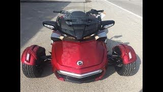 8. NEW 2018  CAN AM SPYDER F3-T SE6 SPORT  1831. NEW generations. Will be made in 2018.