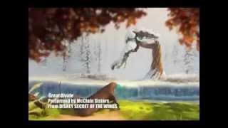 """Este es el Sountrack Oficial """"Secret of the Wings,"""" con la voz de Angie VasquezSite: http://secret-of-the-wings.tk/Viaja con Tinker Bell y sus amigas hadas en el mundo prohibido de los Bosques de Invierno misteriosos, donde la curiosidad y la aventura principal Tinker Bell a un descubrimiento sorprendente y revela un secreto mágico que poría cambiar su mundo para siempre.La banda sonora fue lanzada el 16 de octubre de 2012, y contiene canciones de e inspirado en la película. La banda sonora también contiene """"The Great Divide""""+ el vídeo musical oficial McClain Sisters. El primer sencillo de la banda sonora es """"Time to Mystery, hora de invierno"""" por Bella Thorne.""""Time to Mystery, Time to Winter"""" - Bella Thorne""""The Great Divide"""" - McClain Sisters""""When We Fly Together"""" - Kraisit Agnew""""The Gift of a Friend"""" - Demi Lovato""""To the Fairies They Drew Near"""" - Joel McNeely""""End Credit Score Suite"""" - Joel McNeely""""My World is Yours"""" - Joel McNeely""""When Fairies Sleeps"""" - Joel McNeely""""Fly to Your Heart"""" - Selena Gomez""""Fairy Night Song"""" - Joel McNeely""""Snowflakes"""" - Alyson Stoner""""Fly Away Home"""" - Alyson Stoner""""I'm By Your Side"""" - Caroline Sunshine""""How to Believe"""" - Bridgit Mendler""""Dig Down Deeper"""" - Zendaya""""If You Believe"""" - Lisa Kelly""""Summer's Just Begun"""" - Cara Dillon"""