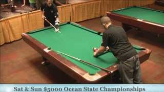 Earl Strickland Tom D'Alfonso 25th Annual Ocean State 9 Ball Championships
