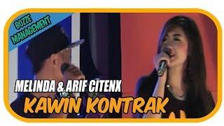 KAWIN KONTRAK - MELINDA & ARIF CITENX [ OFFICIAL KARAOKE MUSIC VIDEO ]