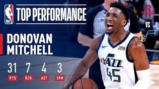 Donovan Mitchell Racks Up 31 Points to Force Game 5   April 22, 2019 by NBA