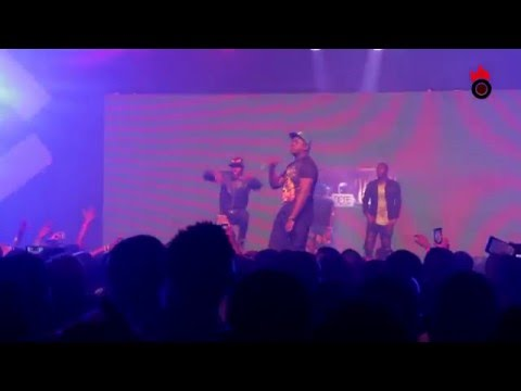 ILLBLISS Live on stage at the Soundcity Urban Blast